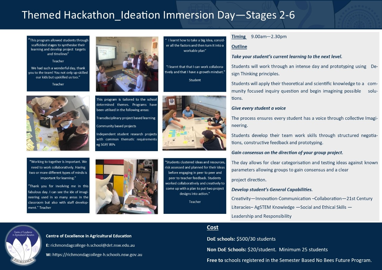 School Hackathon Information Brochure