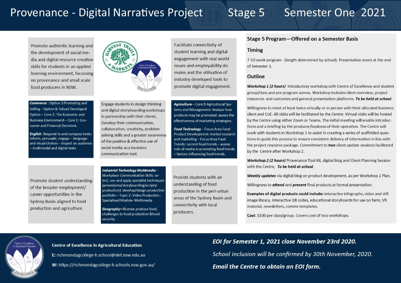 Digital Narratives information