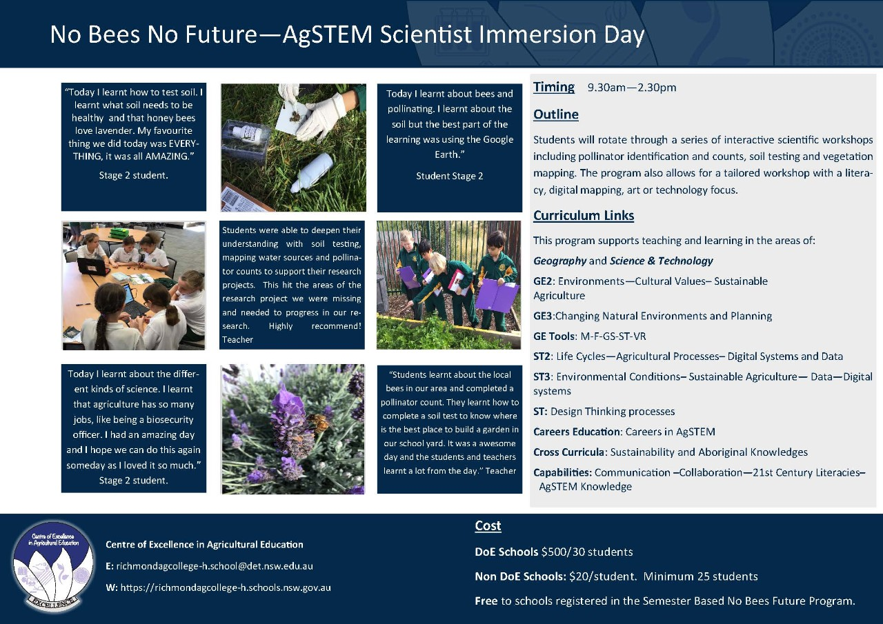AgSTEM Scientist Immersion Day